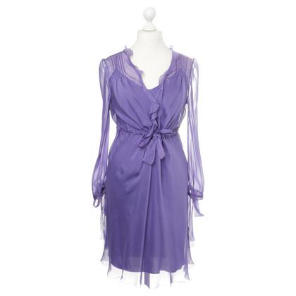 Alberta Ferretti Two-piece dress in purple