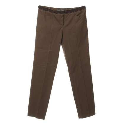 Alberta Ferretti Pants with Grosgrain trim