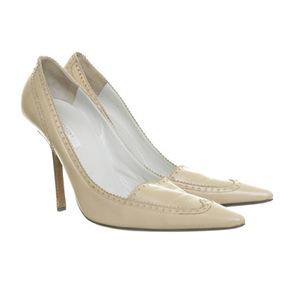 Pollini pumps met gat ornament