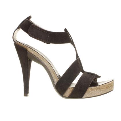 Pedro Garcia Highheel sandal in suede