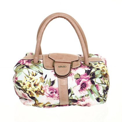 Kenzo Hand bag with flower pattern