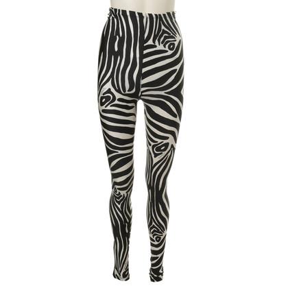 Emilio Pucci Leggings mit Zebra-Print