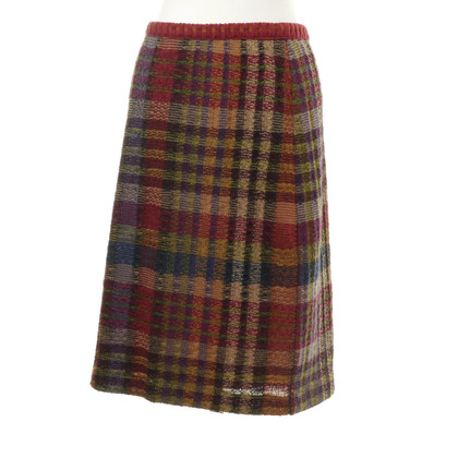 Missoni skirt checkered