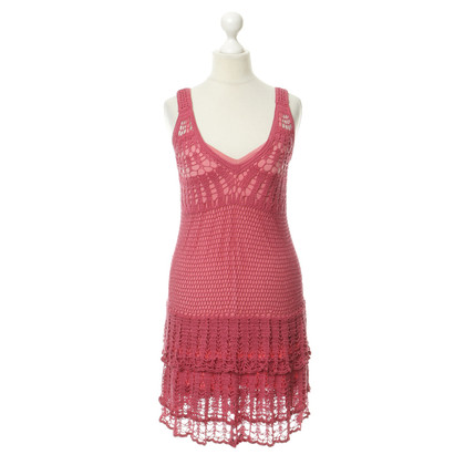 Nanette Lepore Pink crochet dress