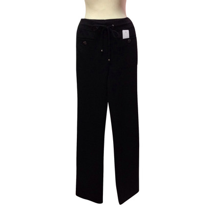 Chanel Pantaloni sportivi in nero
