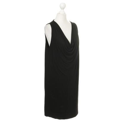 Plein Sud Kleid mit Wasserfall-Ausschnitt