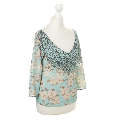Blumarine Top met patroon mix