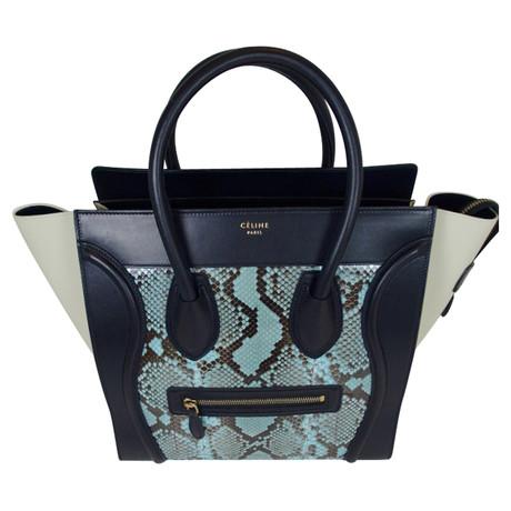 Billig Verkauf Breite Palette Von Günstig Kaufen Best Pick Céline Mini Luggage Bag Bunt / Muster Preise Online-Verkauf Kostenloser Versand Spielraum Finish JT5xUu