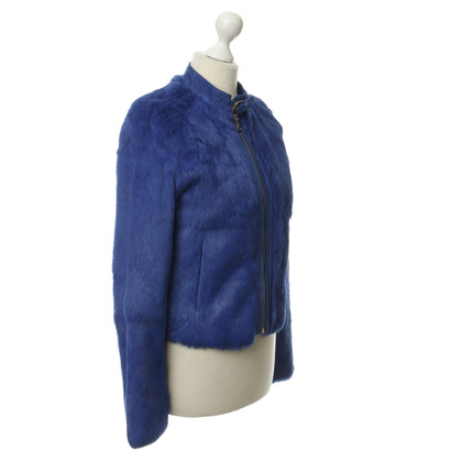 7 For All Mankind Fur jacket in blue