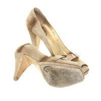 Prada Peep-toes in beige