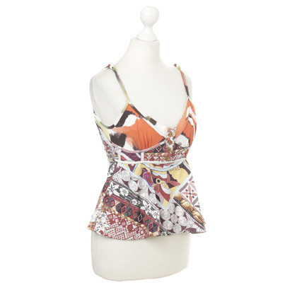 Just Cavalli Top mit Muster-Mix