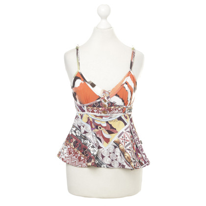 Just Cavalli Top with pattern mix