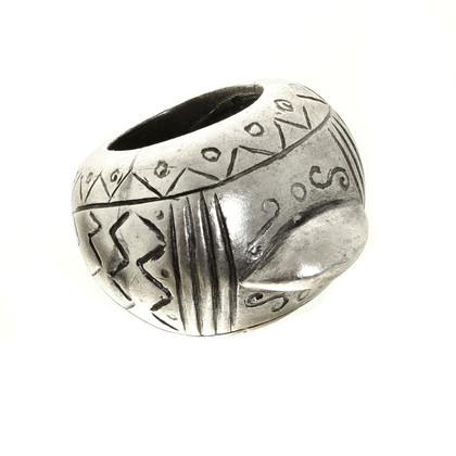 Jean Paul Gaultier Silberfarbener Ring