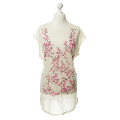 Balenciaga Long shirt with flower motif