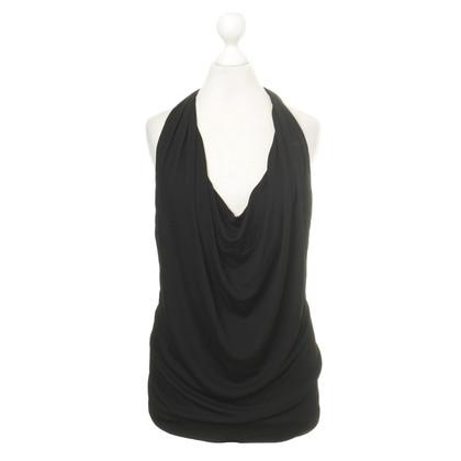 Alberta Ferretti Halter top in black