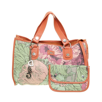 D&G Tote with flower pattern