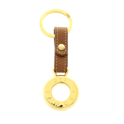 Jil Sander Key pendant in Brown and gold