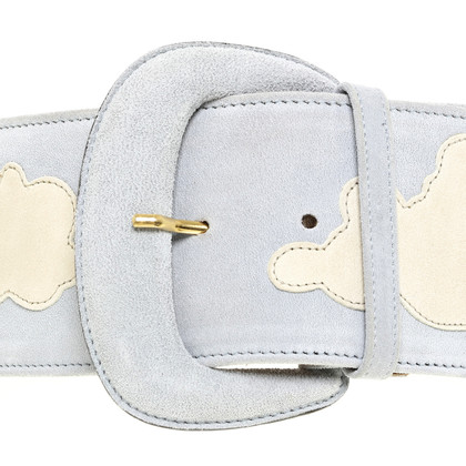 Moschino Belt with cloud pattern