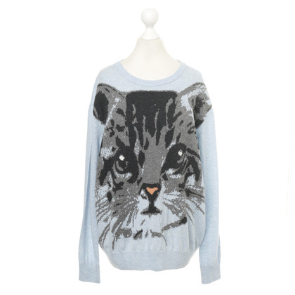 Paul & Joe Sweater with cat motif