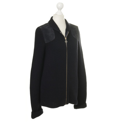 Gucci Dark blue knit Cardigan