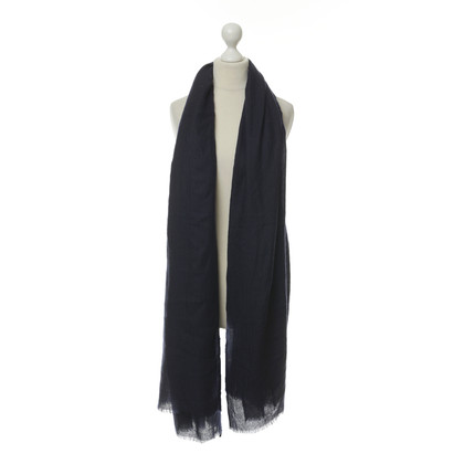 Other Designer Eres - dark blue scarf