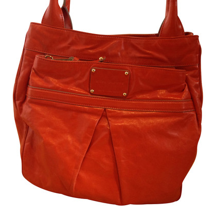 Marc Jacobs Orange Ledershopper