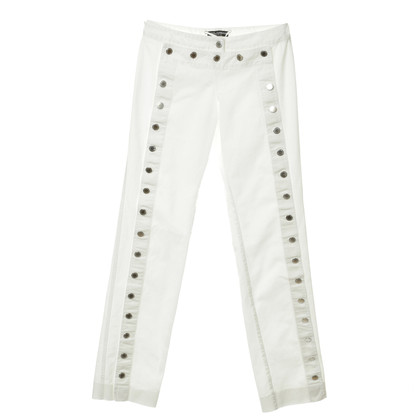Dolce & Gabbana Jeans buttons and lacing