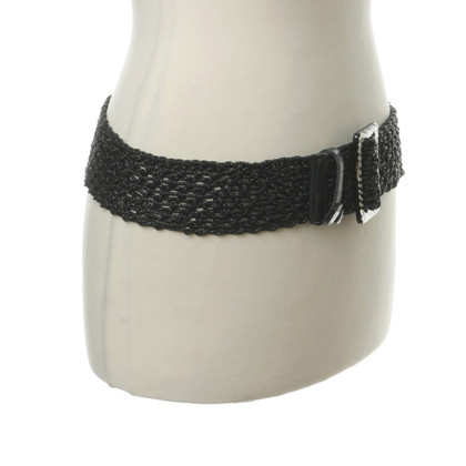 Marc Cain Leather belt with buckle in the animal look
