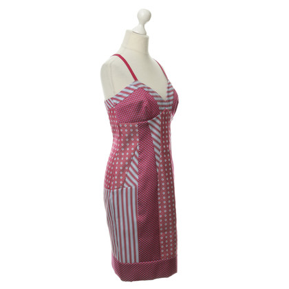 Philosophy di Alberta Ferretti Pinafore dress in the pattern mix