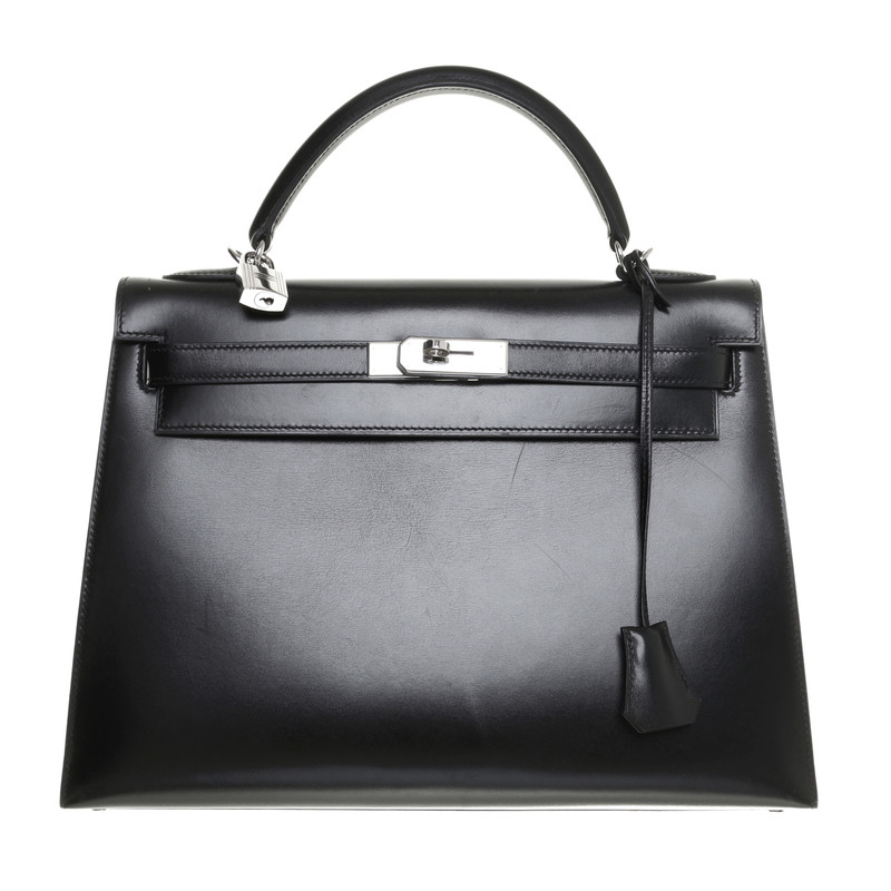 Hermès Black 'Kelly Bag 32'