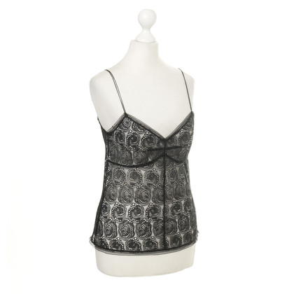 Alessandro Dell'Acqua Lace top in black