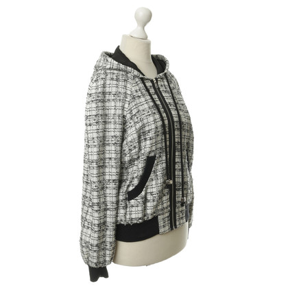 Milly Hooded jacket in bouclé