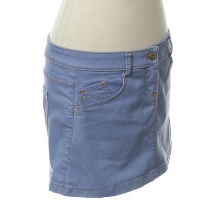 Patrizia Pepe Jeans Rok in lichtblauw