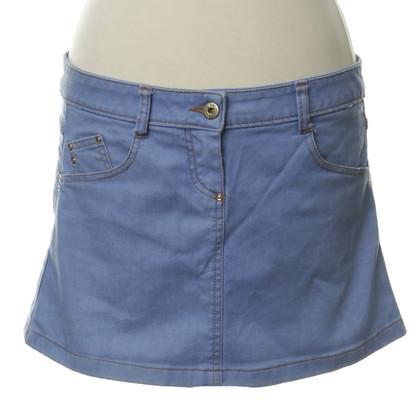 Patrizia Pepe Jeans skirt in light blue
