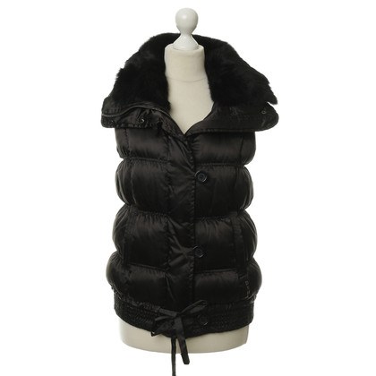 Other Designer DEHA - down vest with fur