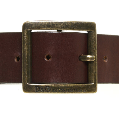D&G Waist belt with label logo