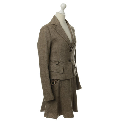 Patrizia Pepe Brown wool costume