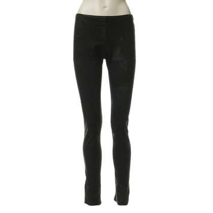 Graham & Spencer Leggings con cuoio