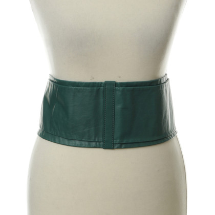 Escada Waist belts in dark green