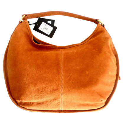 Just Cavalli Braune Wildleder Handtasche