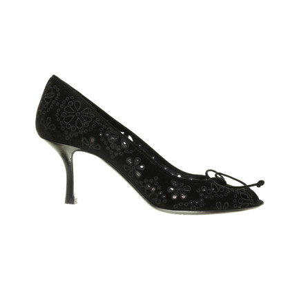 Tom Ford Peep-toes with lace pattern