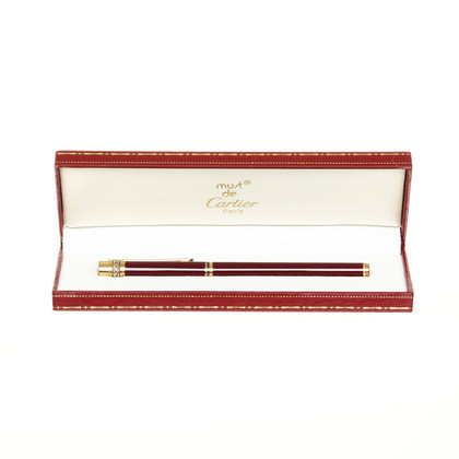 Cartier Stift in Bordeaux und Gold