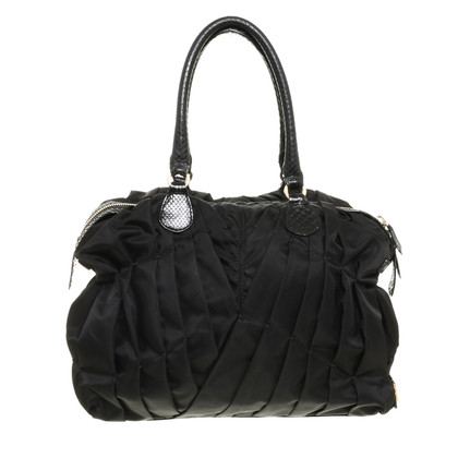 Valentino Bag with reptile leather details