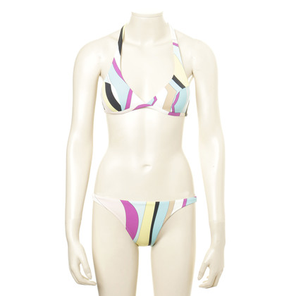 Emilio Pucci Striped bikini