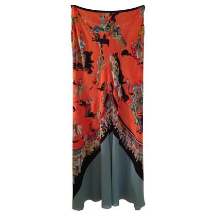 Hermès Pantaloni in seta con anticipo