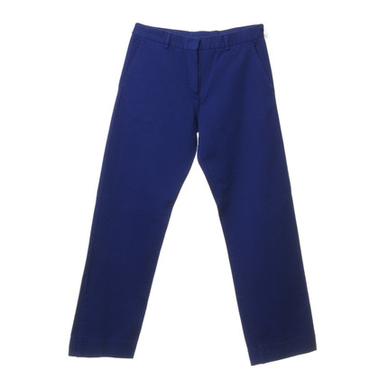 Maison Martin Margiela Pantaloni blu cobalto