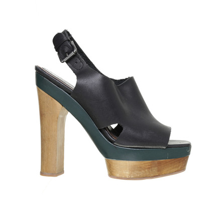 Marni for H&M Platform sandal with wood elements