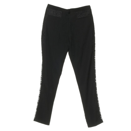 Pinko Pants with lace insert
