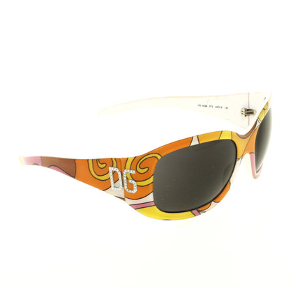 Dolce & Gabbana Sunglasses with colored frame