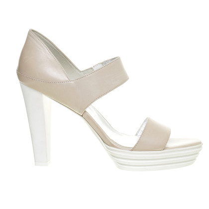 Hogan Sandalette in Creme